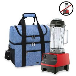 Luxja Carrying Case for 64 oz. Vitamix Blender, Travel Bag for Vitamix Blender and Accessories ( ...