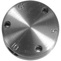 All American pressure cooker regulator weight.