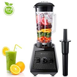Smoothie Blenders, 1500W Smoothie Maker, 2L Commercial Blender, High Speed Jug Blender Machine 2 ...