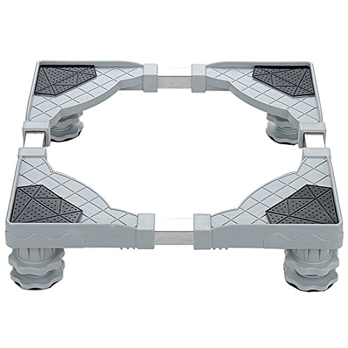 YOMYM Universal Mobile Base with 4 Strong Feet Multi-Functional Adjustable Base for Adjustable D ...