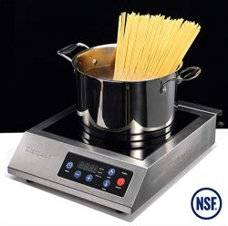 ChangBERT Restaurant 1800W Professional High Power Commercial Induction Cooktop Food Service Sin ...