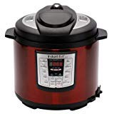 Instant Pot LUX60 Red Stainless Steel 6 Qt 6-in-1 Multi-Use Programmable Pressure Cooker, Slow C ...