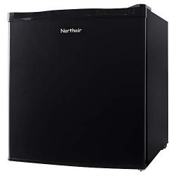 Northair Upright Freezer 1.1 cu. ft. Compact Reversible Single Door Table Top Mini Freezers for  ...