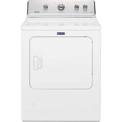 Maytag 7.0 cu. ft. 240-Volt White Electric Vented Dryer with Wrinkle Control