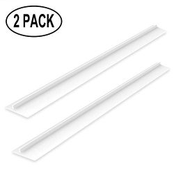 mdairc Silicone Kitchen Stove Counter Gap Cover Wide & long Gap Filler, 21″, Seals Spi ...