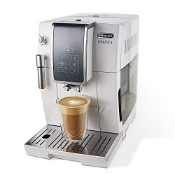 De'Longhi Dinamica Automatic Coffee & Espresso Machine TrueBrew (Iced-Coffee), Burr Gr ...