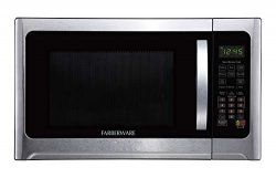 Farberware Professional FMO12AHTBKE 1.2 Cu. Ft. 1100-Watt Microwave Oven With Smart Sensor Cooki ...