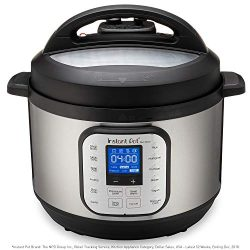 Instant Pot Duo Nova 7-in-1 Electric Pressure Cooker, Slow Cooker, Rice Cooker, Steamer, Saute,  ...