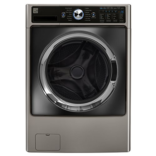 Kenmore Elite 41003 4.5 cu. ft. Front Load Combination Washer/Dryer in Silver, includes delivery ...