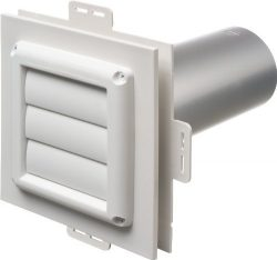 Arlington Industries DV1-1 Dryer Vent Exhaust Mounting Block, 1-Pack