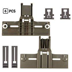 kenmore elite dishwasher top rack parts W/ 0.9 Inch Diameter W10350376 W10195840 W10195839 (6pcs ...