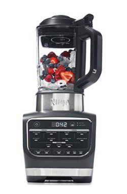 Ninja Foodi Cold & Hot Cook Hot Soups, Sauces and Dips Blender with 1400 Peak Watts to Crush ...