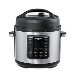 Crock-Pot 2100467 Express Easy Release | 6 Quart Slow, Pressure, Multi Cooker, 6QT, Stainless Steel