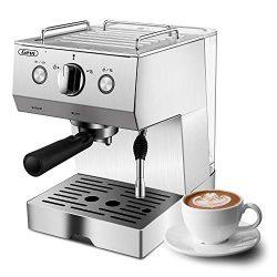 Espresso Machine, Coffee Machine with 15 bar Pump Powerful Pressure Coffee Brewer, Coffee maker  ...