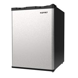 KUPPET Upright Freezer, Compact Reversible Single Door Table Top Mini Freezers for Ice Cream/Bre ...