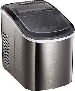 Tavata Countertop Portable Ice Maker Machine, 9 Ice Cubes Ready in 6 Mins, Makes 26 lbs of Ice p ...
