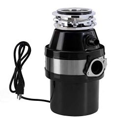 Garbage Disposal, KUPPET Garbage Disposal 1 HP Household Food Waste Garbage Disposal Continuous  ...