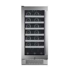 Avallon AWC151SZLH 27 Bottle 15″ Built-In Wine Cooler – Left Hinge