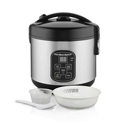 Hamilton Beach (37518) Rice Cooker, 4 Cups uncooked resulting in 8 Cups Cooked with Steam &  ...