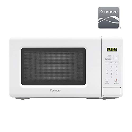 Kenmore Elite 70722 0.7 cu. ft Compact 700 Watts 10 Power Settings, 6 Heating Presets, Removable ...