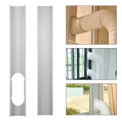 Jiecikou Universal Window Seal Set for Portable Air Conditioner and Tumble Dryer – Works w ...