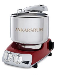 Ankarsrum Assistent Original AKM 6230 Electric Stand Mixer, 7.4 Quart (Red)