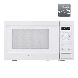 Kenmore Elite 70922 0.9 cu. ft Small Compact 900 Watts 10 Power Settings, 12 Heating Presets, Re ...