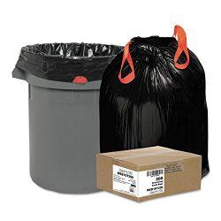 Draw 'n Tie 1DT200 Heavy-Duty Bags, 30gal, 1.2mil, 30 1/2 x 33, Black, 200/Box