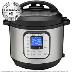 Instant Pot Duo Nova 6-Quart 7-in-1, One-Touch Multi-Use Programmable Pressure Cooker, Slow Cook ...