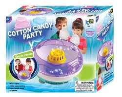 AMAV Electric Cotton Candy Maker Toy – DIY Make Your Own Cotton Candy using Regular Sugar  ...