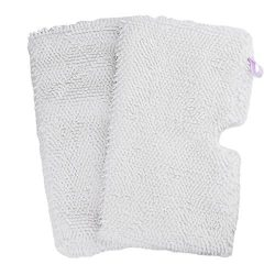 Flammi 2 Pack Replacement Washable Microfiber Mop Pads Cleaning Pads for Shark Steam Pocket Mops ...