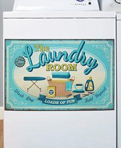 Lively Laundry Washing Machine Magnet – Wash Room Appliance Decoration