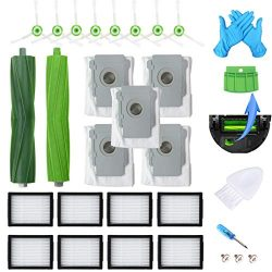 JoyBros 23-Pack Replacement Parts Compatible for iRobot Roomba Accessories i Series i7 i7+/ Plus ...