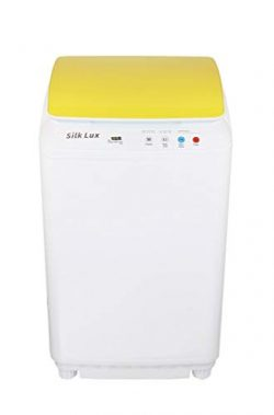 The Laundry Alternative – Silk Lux Portable Mini Automatic Washing Machine with Germicidal ...