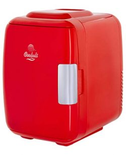 Cooluli Classic 4-liter Compact Cooler/Warmer Mini Fridge for Cars, Road Trips, Homes, Offices a ...