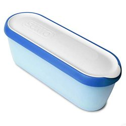 SUMO Homemade Ice Cream Containers: Insulated Tub. Dishwasher Safe. 1.5 Quart (1-Pack, Blue)