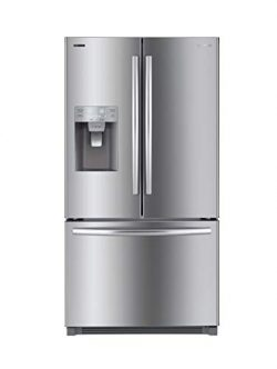 Daewoo RFS-26DTJE French Door Refrigerator, Silver/Stainless Steel, includes delivery and hookup