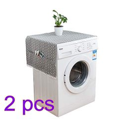 Single-door Fridge Dust Cover Multi-purpose Washing Machine Top Cover Single door Refrigerator D ...