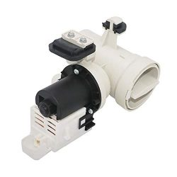 W10130913 Washer Drain Pump with Motor and Impeller Blades Assembly (120V, 60Hz) By Primeswift,O ...
