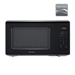 Kenmore Elite 70729 0.7 cu. ft Compact 700 Watts 10 Power Settings, 6 Heating Presets, Removable ...