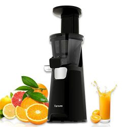 Kenwell Slow Juicer, Juicer Machine with 150W power, Whole Juicer Chute for Fruits and Vegetable ...