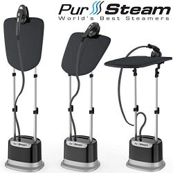 Professional Series Garment Steamer Accessories for Clothes Dual-Pro Iron & Pressurized with ...