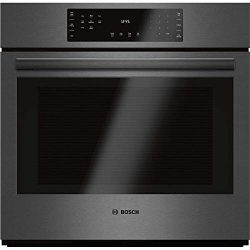 Bosch 30″ Black Stainless Steel 800 Series Single Wall Oven