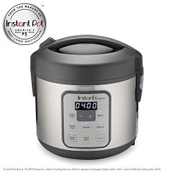 Instant Zest Rice and Grain Cooker – 8 cup rice cooker from the makers of Instant Pot (Ren ...