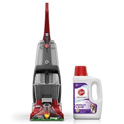 Hoover Power Scrub Deluxe Carpet Washer with Paws & Claws Carpet Cleaning Solution with Stai ...