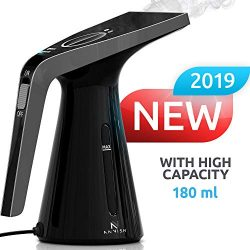 ANVISH Steamer for Clothes Garment Portable Handheld Fabric Steamer and Wrinkle Remover with Hig ...