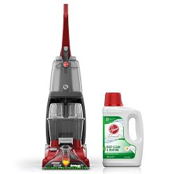 Hoover Power Scrub Deluxe Carpet Washer with Renewal Carpet Cleaning Solution (64 oz), FH50150,  ...