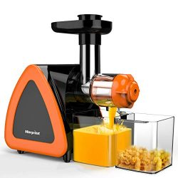 Juicer Machines, Morpilot Slow Masticating Juicer, Reverse Function, Cold Press Juicer Machine,  ...