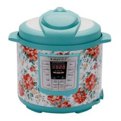 Instant Pot Pioneer Woman LUX60 Vintage Floral 6 Qt 6-in-1 Multi-Use Programmable Pressure Cooke ...