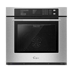Empava 30 in Electric Single Wall Ovens Built-in Self-cleaning Convection Fan Touch Control EMPV ...